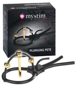 Mystim Plunging Pete E-Stim Eichelschlaufe