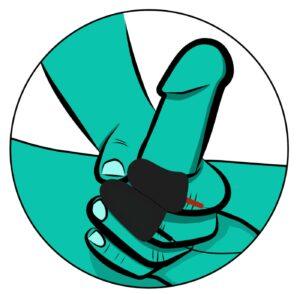 "ElectraStim ""Silicone Noir Explorer Finger Sleeves"": Handjob trifft auf E-Stim!"